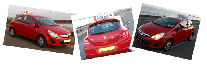 Vauxhall Corsa training vehicles